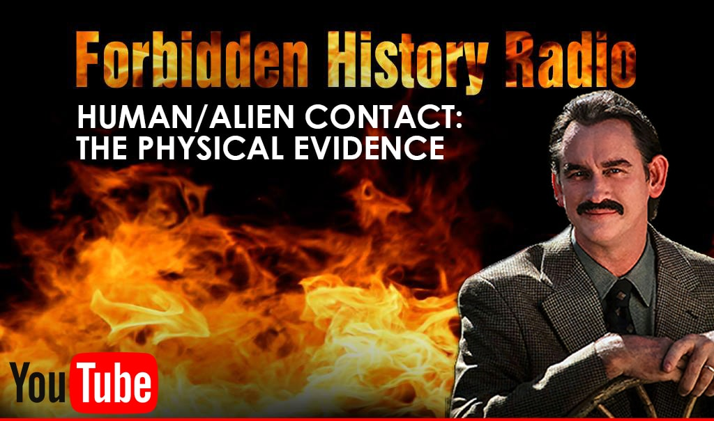 Forbidden History Radio Discusses The Physical Evidence with Derrel Sims