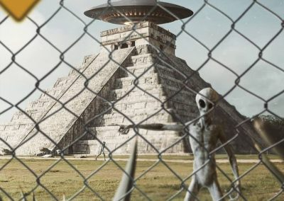 The Alien Hunter - - On the light side (Humor)