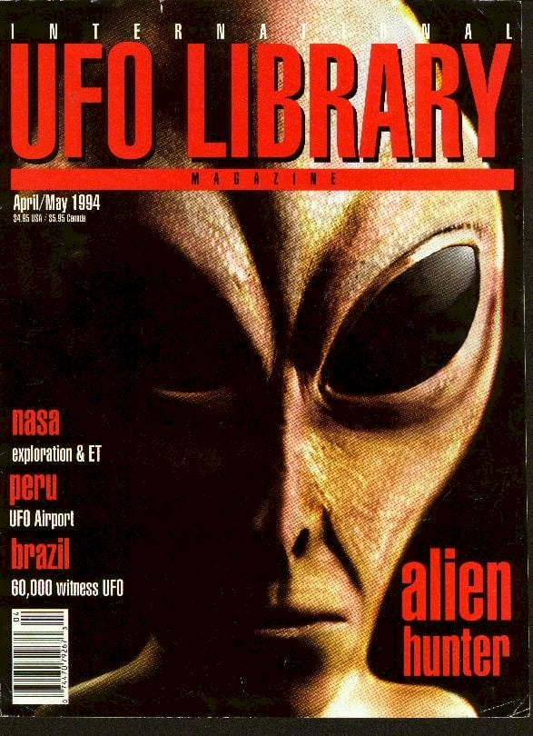 International UFO Library Magazine(April-May, 1994) - 'Life in the Pleiades' by J.Randolph Winters