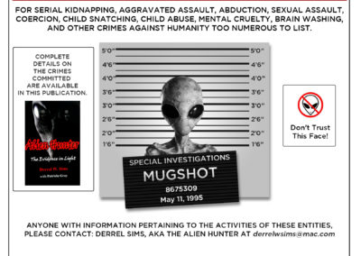Alien Hunter Wanted Poster