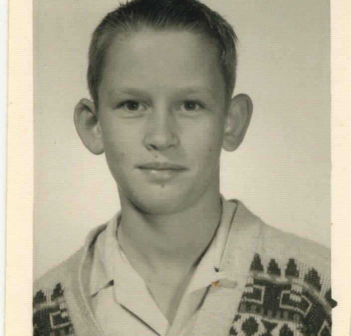 Derrel Sims at age 12