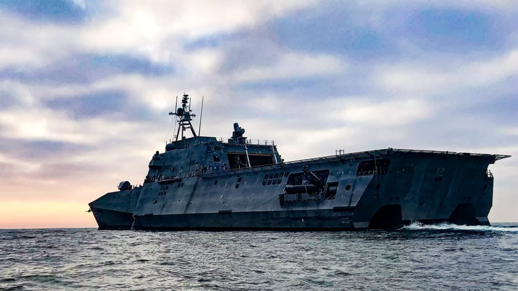 USS Omaha is a combat ship in the US Navy   Photo Credit: ALAMY