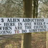 Mysterious sign claims three alien abductions happened in Dudley in one week and 'council not doing anything'