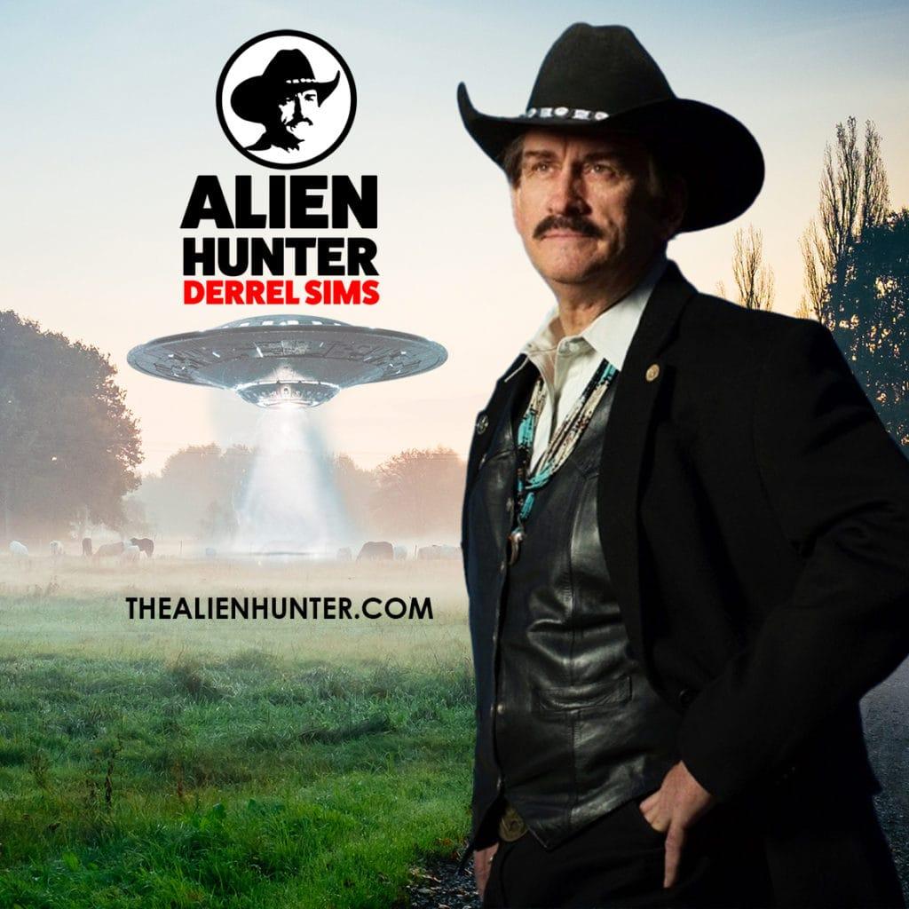 The Alien Hunter, Derrel Sims